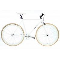 Fixed Gear 28 inch Wit