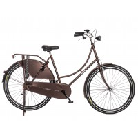 Alfa Omafiets Holland Crown 28 inch 50CM 1 Vers. - Mat Donkerbruin