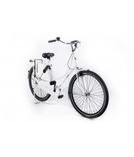 Alfa Omafiets Holland Crown Damesfiets 28 inch 50CM  Mat Wit