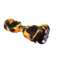Hoverboard - Silicone hoes 6.5 INCH - LEGER-ORANJE