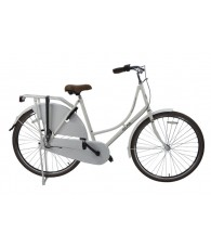 ALFA DUTCH Shopping Omafiets 28 inch / 53cm - 3 SP Wit