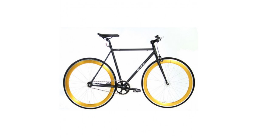 Fixed Gear 28 inch Zwart-Goud